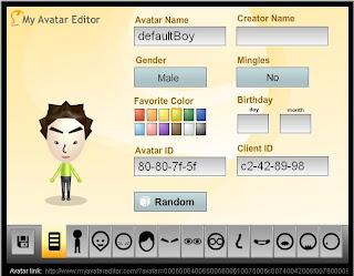 Wii似顏繪(Mii Creator & Mii editor)