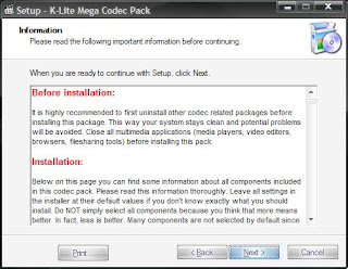 K-Lite Mega Codec Pack 4.8.5