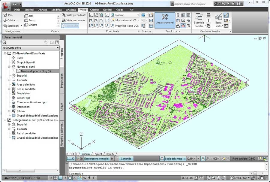 Il blog italiano di autocad map e civil 3d prova della for Cad 3d free italiano