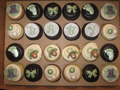 baby shower cupcakes. aby shower cupcakes ideas.