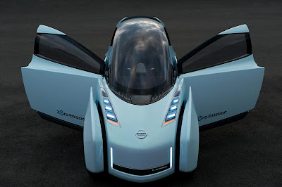 Concept car design from Nissan