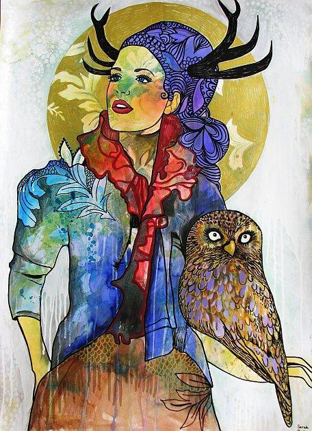 @ carlasdeleon: artist feature: sarah hickey