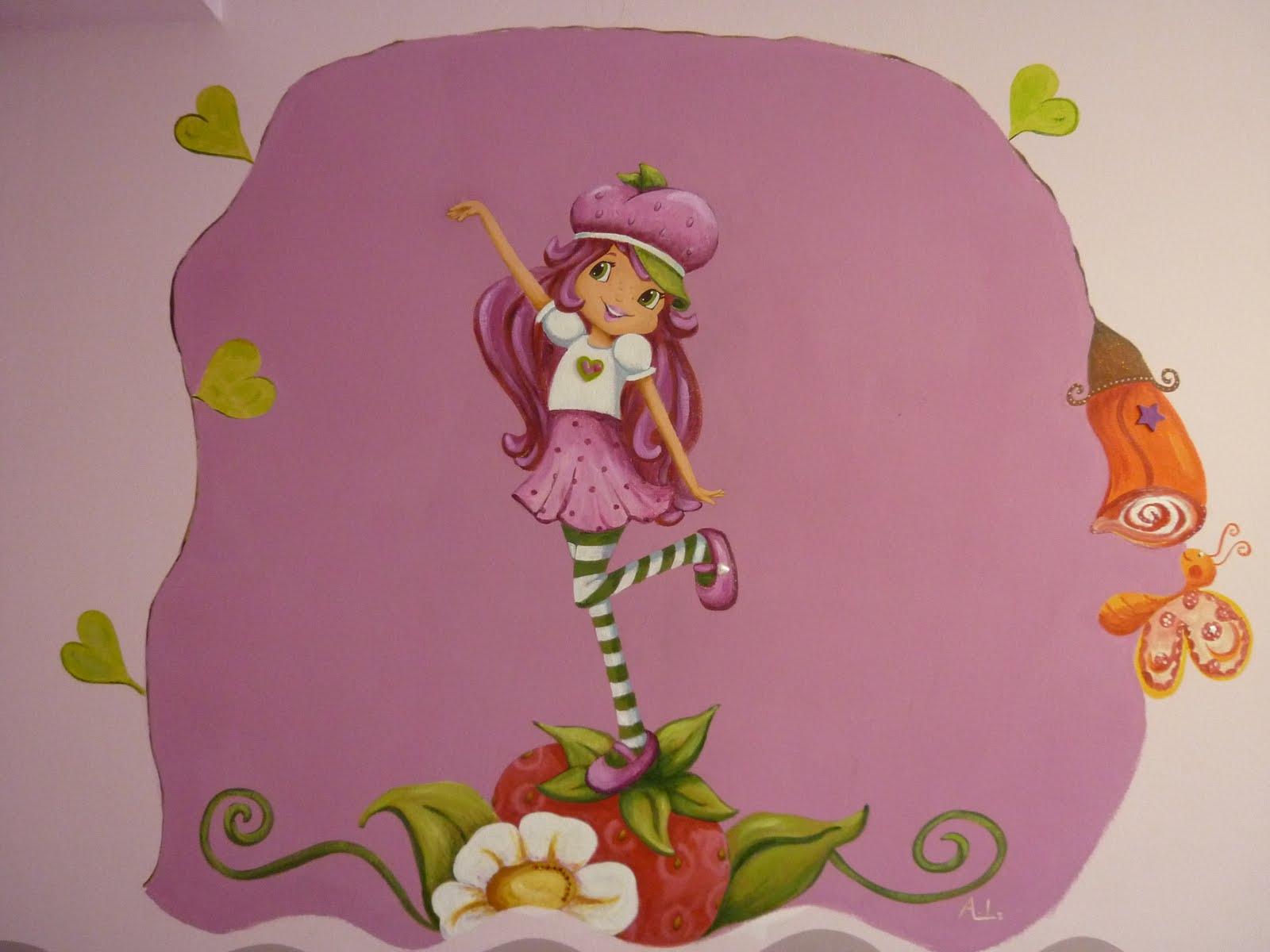 Murales infantiles for Murales infantiles nina