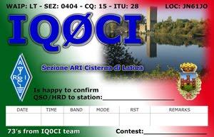 QSL IQ0CI