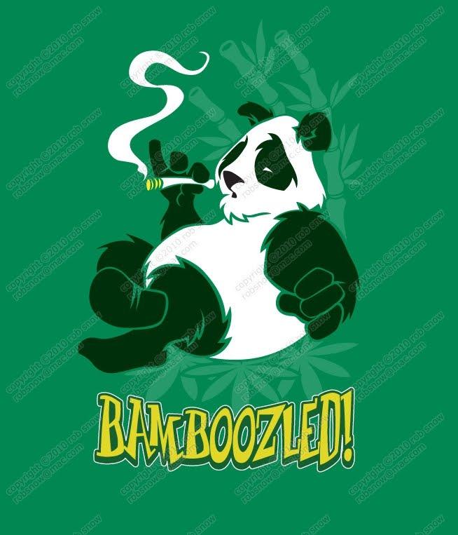 Cartoon Panda Drawing copyright © Rob S...