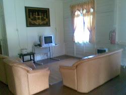 Ruang Tamu di Rumah Desa