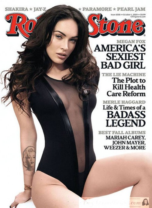 Megan Fox Magazine Photos. three magazine covers to