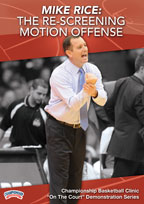Mike Rice: Re-Screening Motion Offense