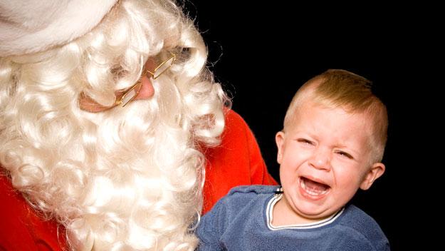 Miedo a Santa Claus Papa+Noel