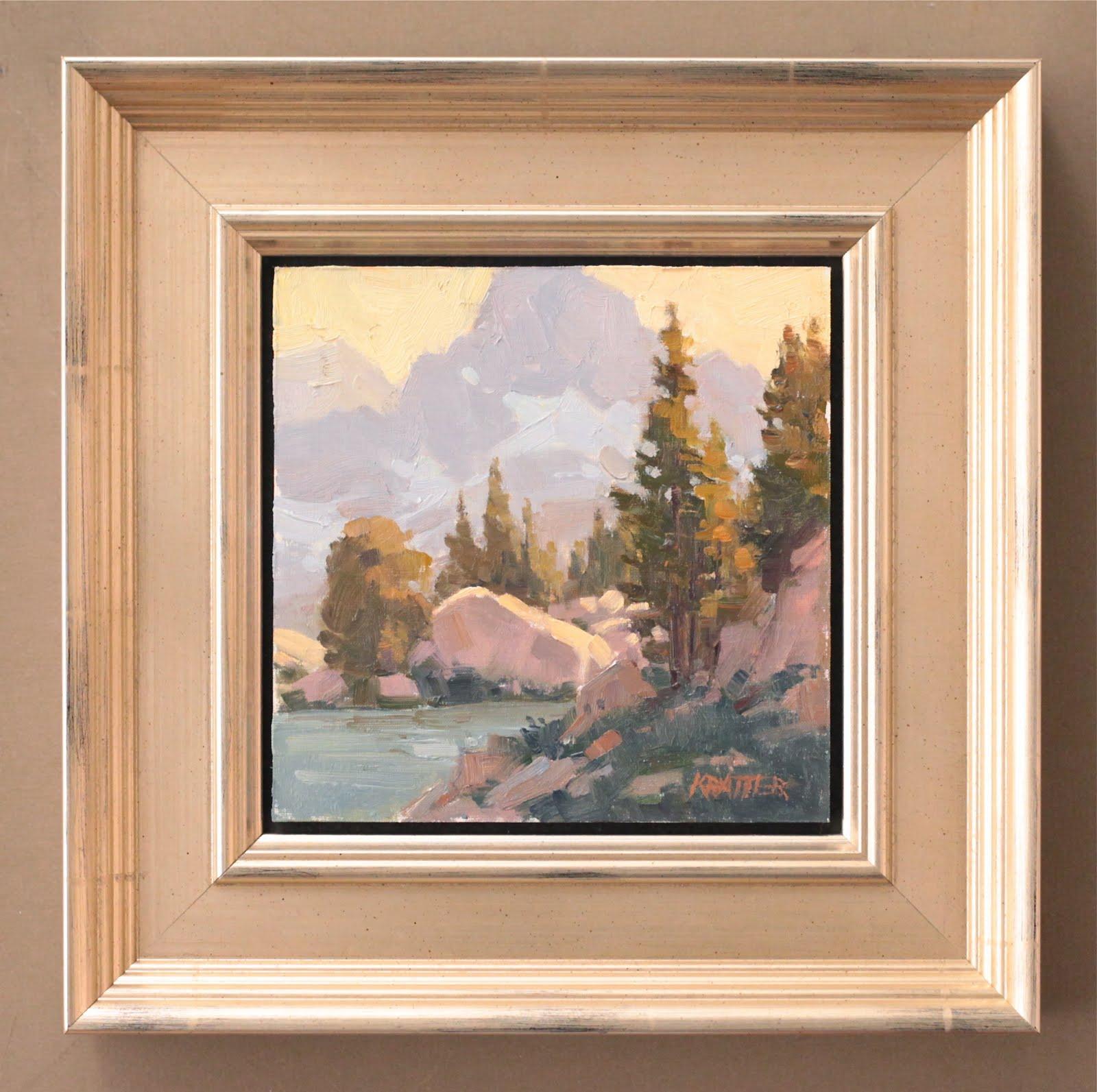 Randy Higbee Gallery: Floater Frames now on kingofframe.com