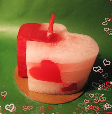 мастер-класс по изготовлению свечей в домашних условиях, день Святого Валентина, свечи своими руками, сердце, символический подарок