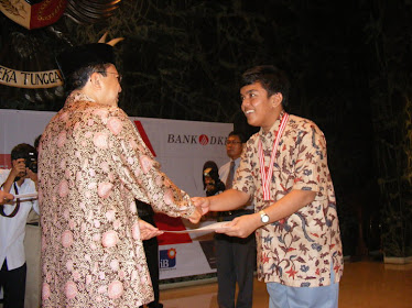 Menerima Apresiasi dari Gubernur DKI Jakarta