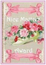 """Nice Matters Award"""