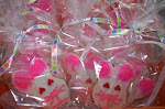 Bunny Sugar cookie favors