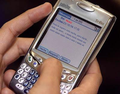 Mandar sms gratis de movistar claro y personal