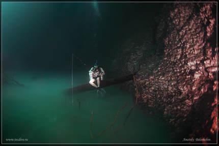 Fenomena Sungai di Bawah Laut Cenote Angelita