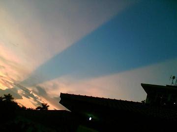 Langit Terbelah dan Gempa di Yogyakarta