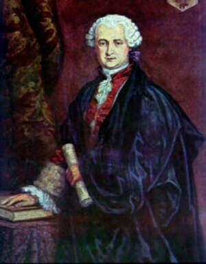 Count St.Germain - lukisan tahun 1745
