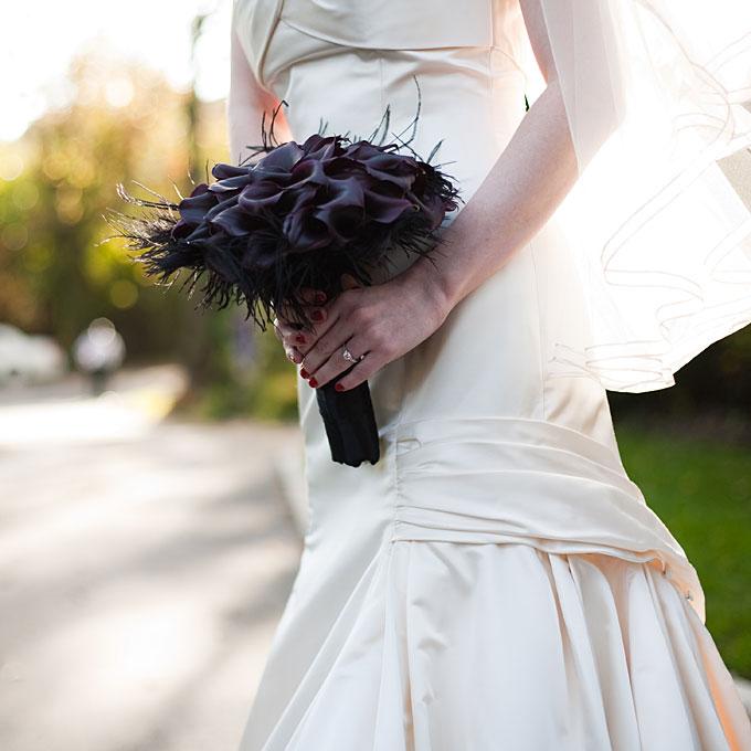 Elegant Halloween Themed Weddings