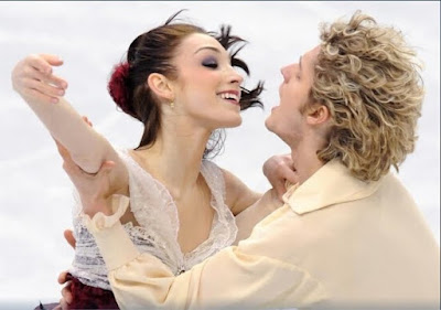Meryl Davis Charlie White free skate silver medal Olympics ice dancing pictures images photos screencaps captures screengrabs Phantom of the Opera