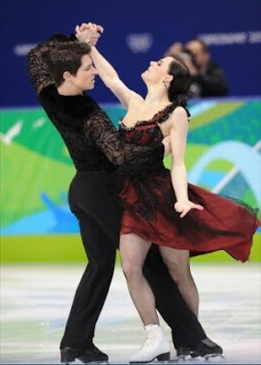 Tessa Virtue Scott Moir original skate gold medal Olympics ice dancing pictures images photos screencaps captures screengrabs flamenco