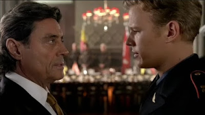 Christopher Egan Ian McShane King Silas David Shepherd photos images screencaps screengrabs stills Kings David Goliath