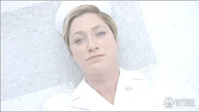 Edie Falco Nurse Jackie floor screencaps images pictures photos
