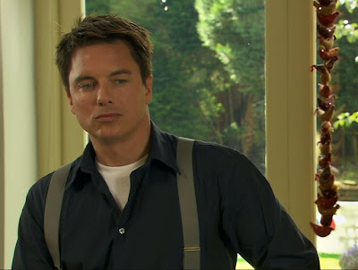 Captain Jack Harkness John Barrowman suspenders Torchwood Children of Earth Part One screencaps images pictures photos screengrabs