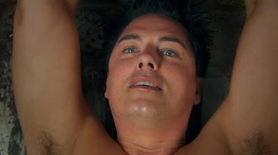 Captain Jack Harkness John Barrowman Torchwood Children of Earth Day 2 naked screencaps nude photos chained up images pictures screengrabs captures cuffs bound