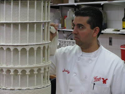 "Tonight on Cake Boss, ""Leaning, Lobsters, and Lectures"", Buddy and his Cake"