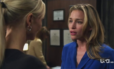Covert Affairs Pilot episode screencaps Annie Walker Piper Perabo CIA agent images photos pictures screengrabs captures Joan Campbell Kari Matchett