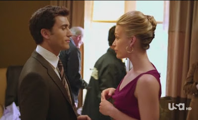 Covert Affairs Pilot episode screencaps Annie Walker Piper Perabo CIA agent images photos pictures screengrabs captures FBI agent Vincent Rossabi Noam Jenkins hooker call girl