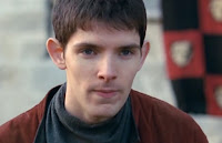Merlin The Tears of Uther Pendragon screencaps Colin Morgan eyes magic images photos pictures screengrabs