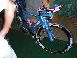 Michellie Jones' new Bike