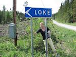 Bor Loke utanför Östersund?