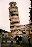 Lutande tornet i Pisa under ständiga räddninsaktioner