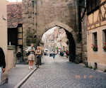 Rothenburg ob der Tauber, Västtyskland