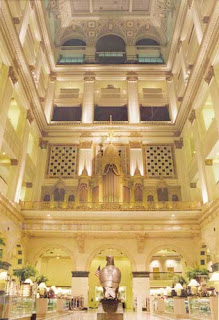 The Grand Court at Macy's (formerly Wanamaker's), Center City Philadelphia.  Photo from Friends of the Wanamaker Organ.