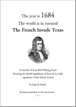 Let's hope they have another go - The French Invade Texas by Jaap de Goede
