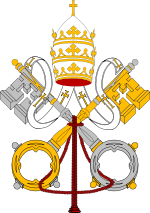 [Image: 150px-Emblem_of_the_Papacy_svg.png]