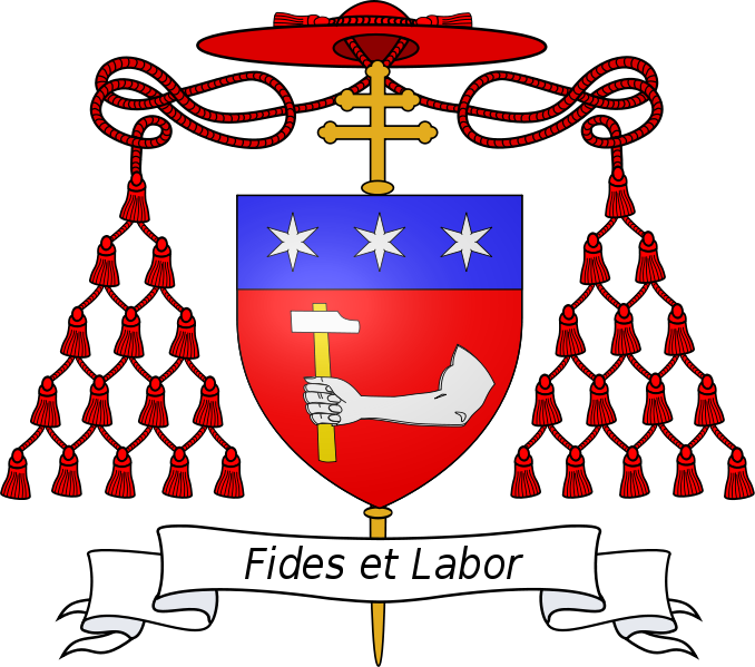 Mclain Coat Of Arms. The Arms of Luigi Cardinal