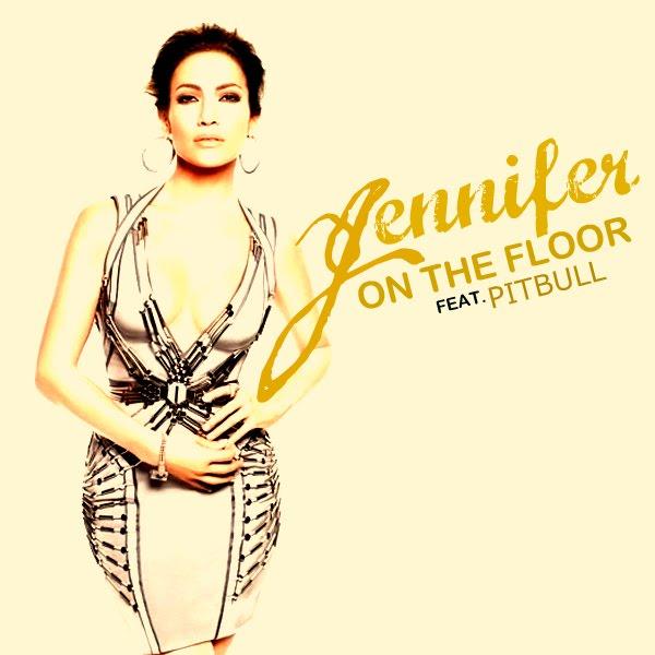 Coverlandia the 1 place for album single cover39s for Jennifer lopez on the floor album cover