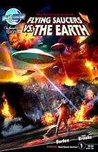 Flying Saucers<br>VS The Earth