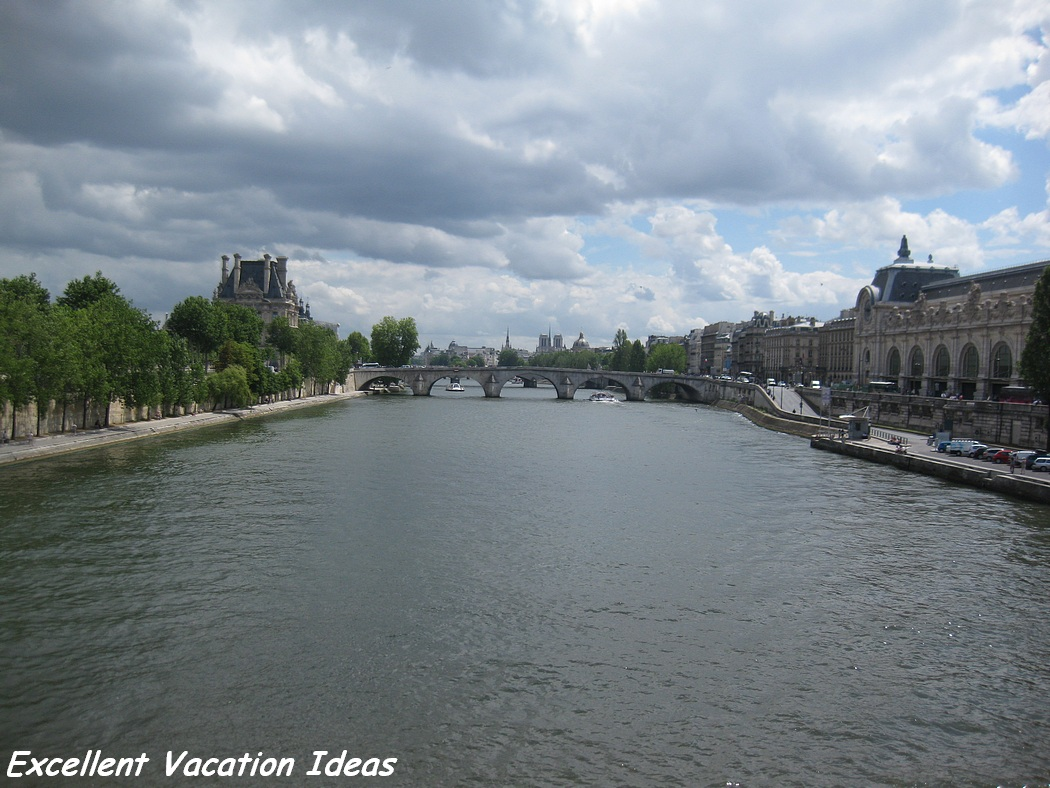 Taking A Seine River Cruise In Paris  Excellent Vacation Ideas