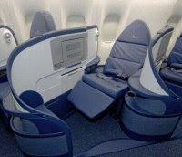 Delta B777-200LR cabin