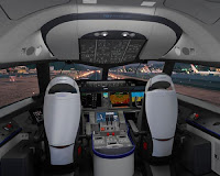 B787 flight deck