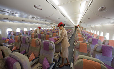 Airline travel what you really need to know emirates for Airbus a380 emirates interior