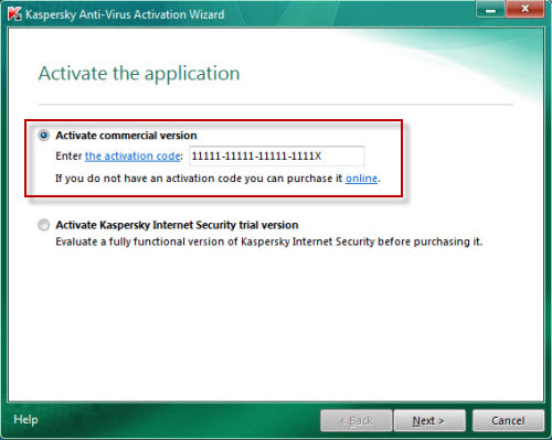 serial number kaspersky for android