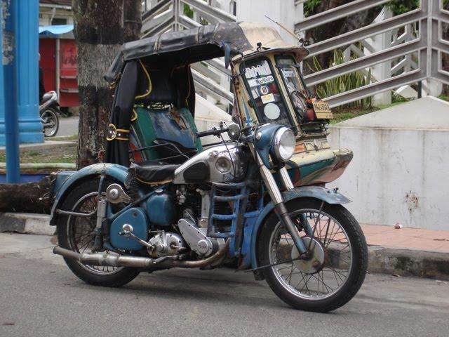 BECA SIANTAR BOMS ( BSA Owner Motorcycles Siantar), sepeda motor tua  title=