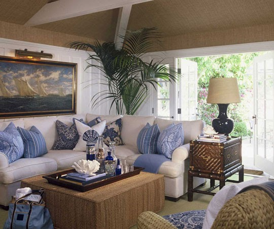 Living Room Decorating And Designs By Tina Barclay: J'adore Decor: Blue And White